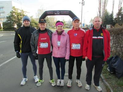 Karácsonyi futás Losoncban, 2014. december 26.