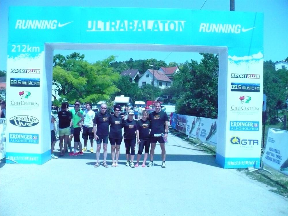 Ultrabalaton futás - 2012